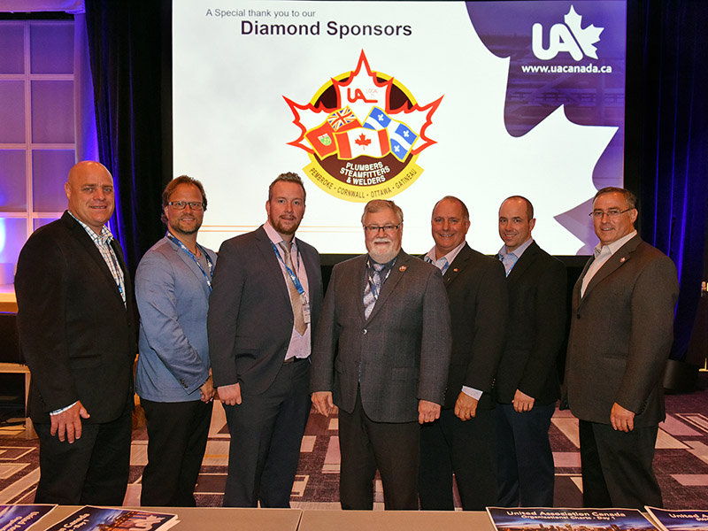 UA Canadian Conference Diamond sponsors