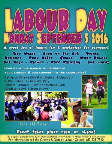 Labour day march